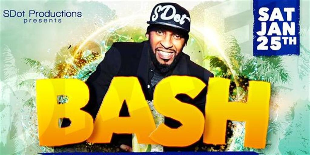 Bash flyer or graphic.
