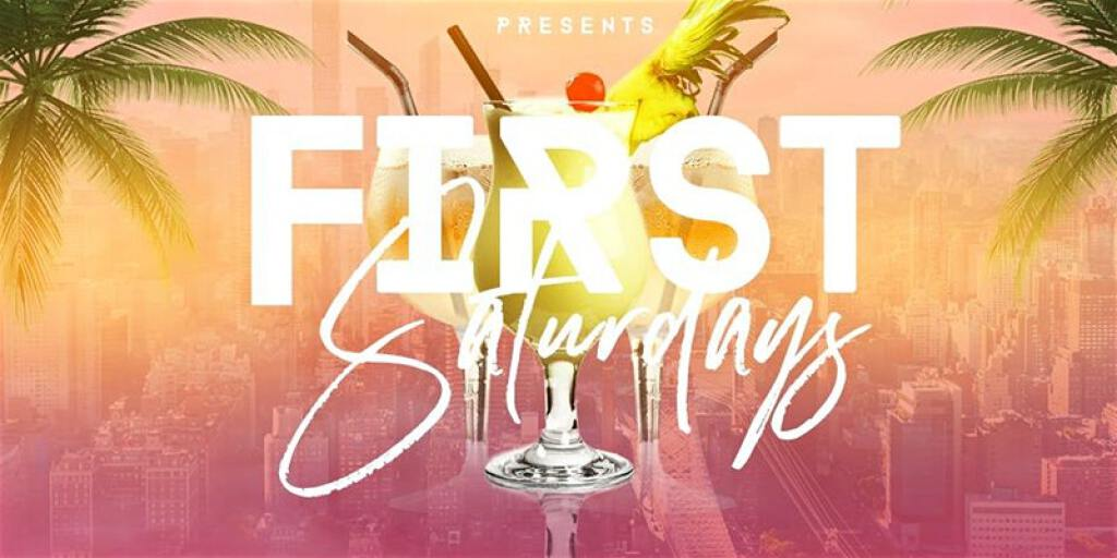 First Saturdays flyer or graphic.