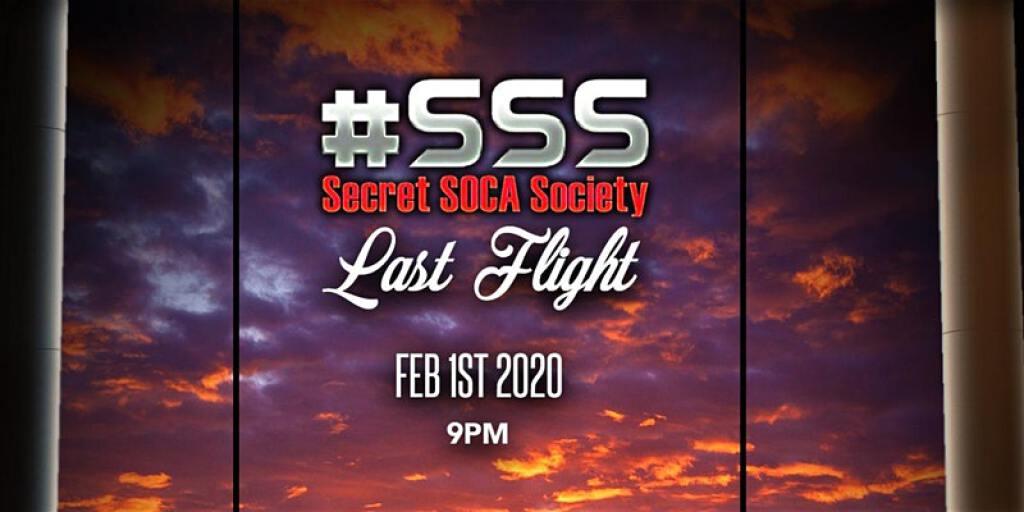 SSS Last Flight flyer or graphic.
