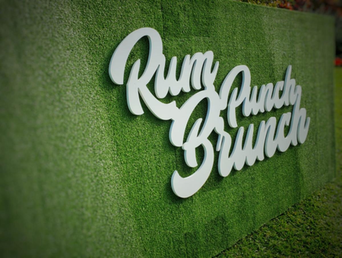 Rum Punch Brunch flyer or graphic.