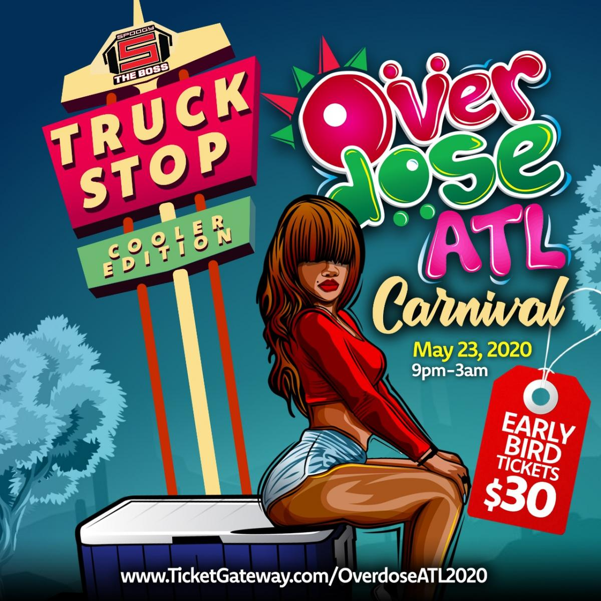 Overdose ATL flyer or graphic.