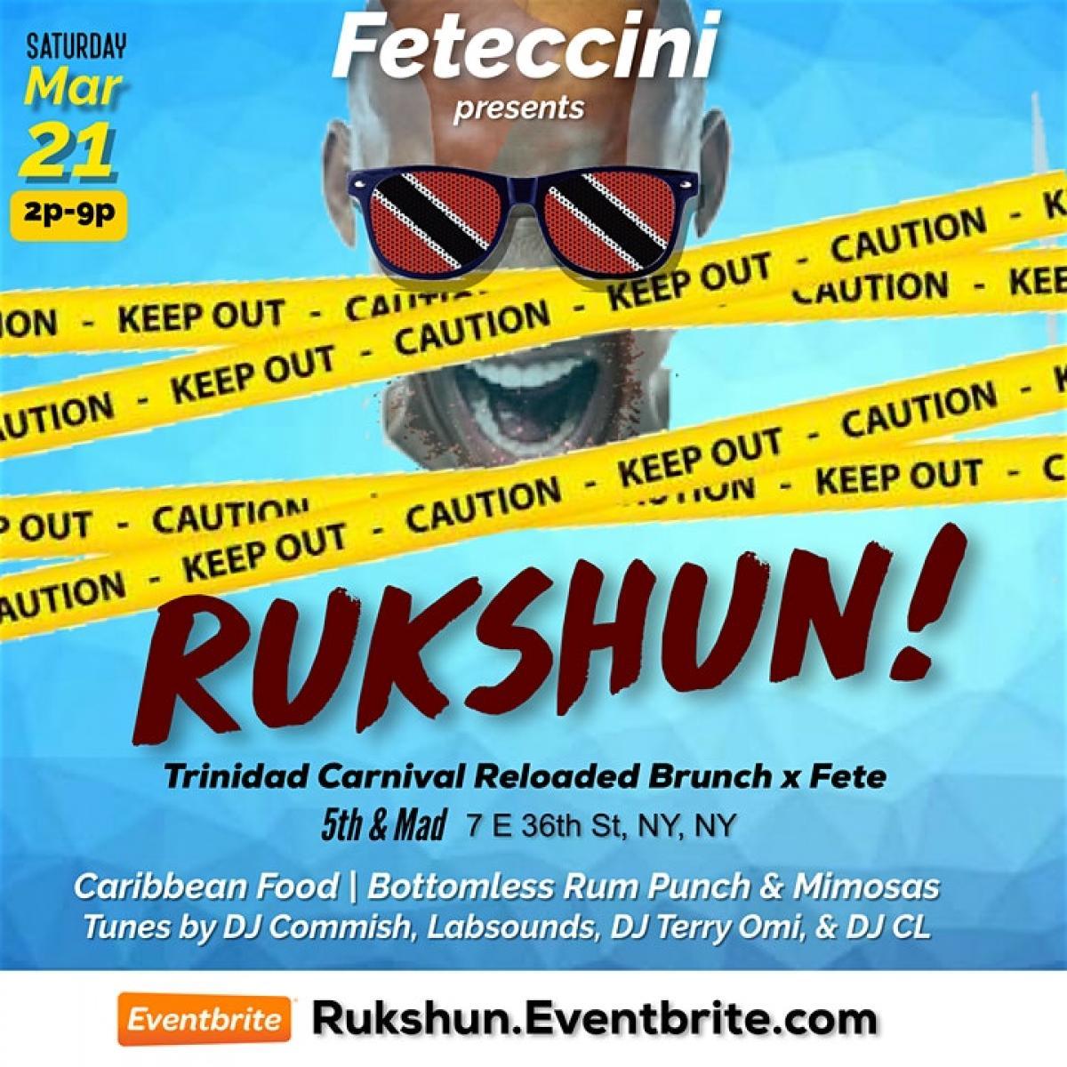 Rukshun! flyer or graphic.