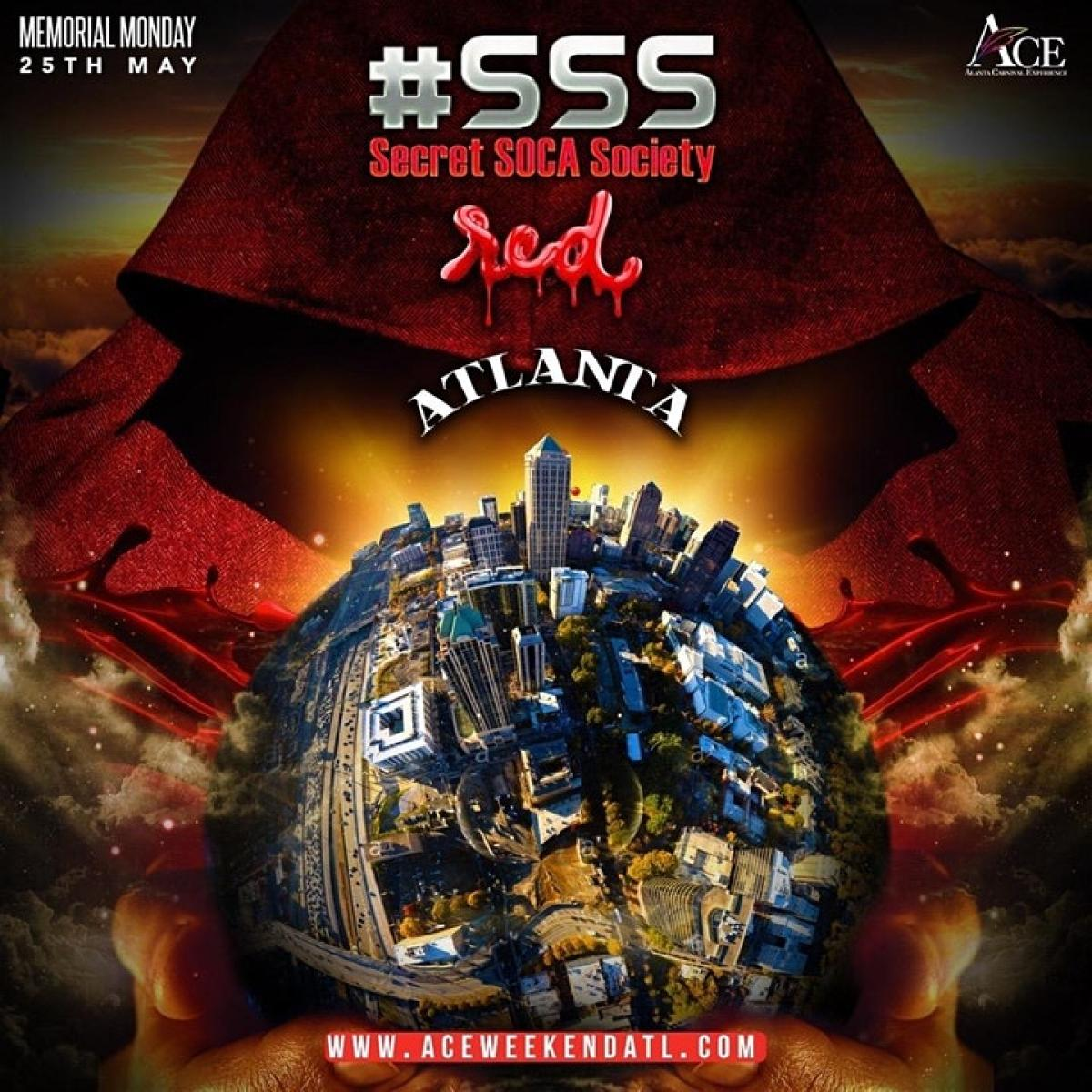 SSS Red ATL flyer or graphic.
