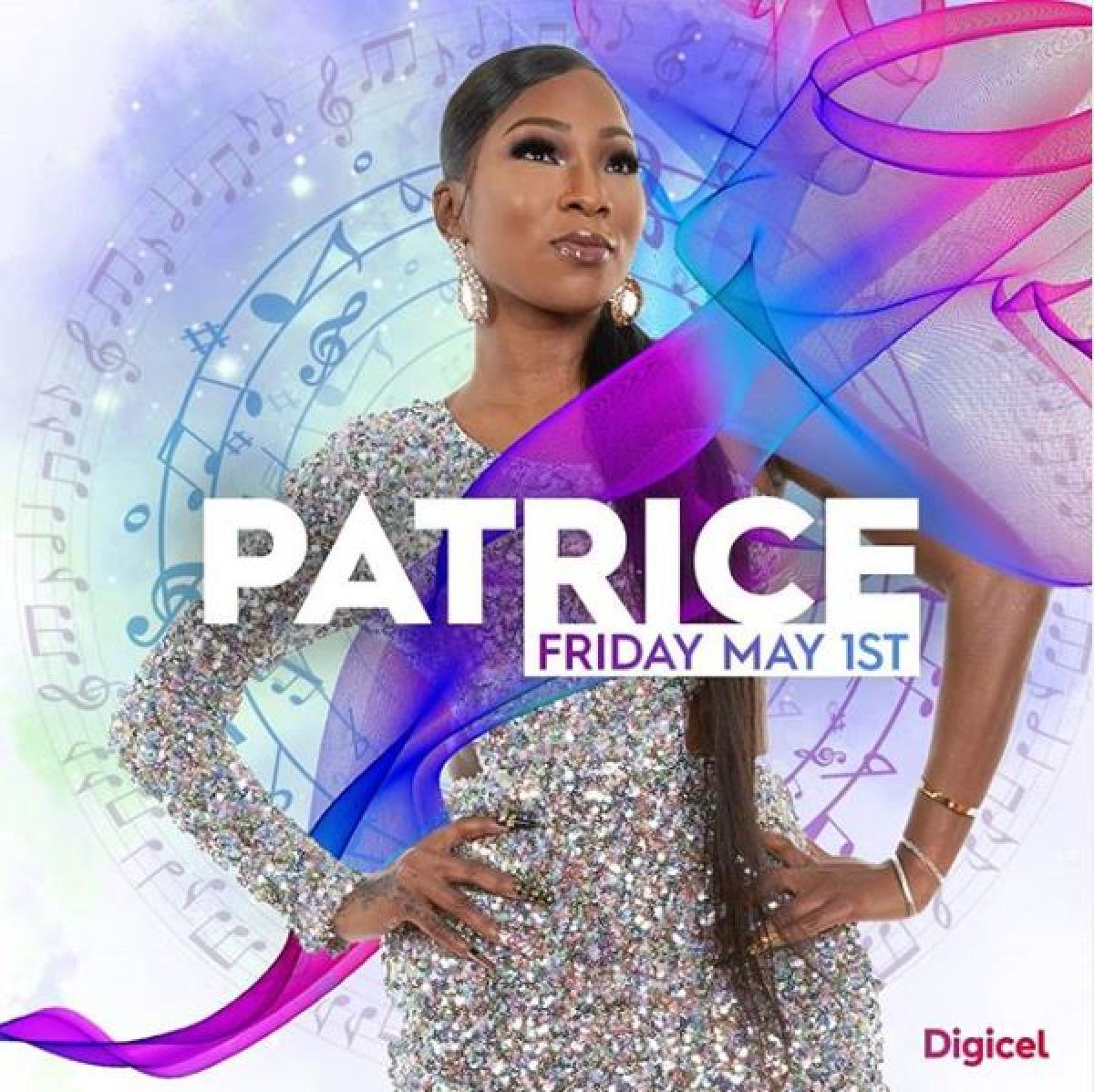 Digicel Online Cameo Concert with Patrice Roberts flyer or graphic.