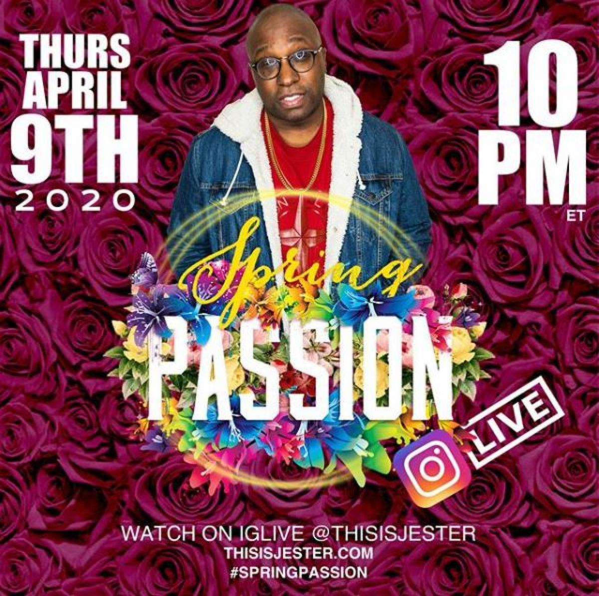Spring Passion flyer or graphic.