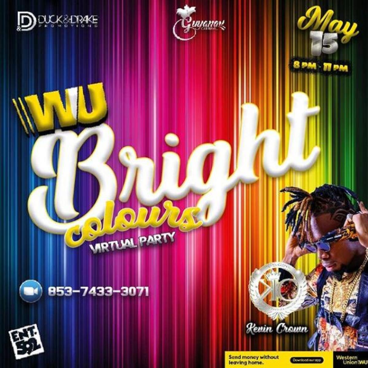 Bright Colours flyer or graphic.