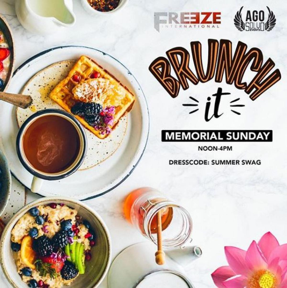 Brunch It flyer or graphic.