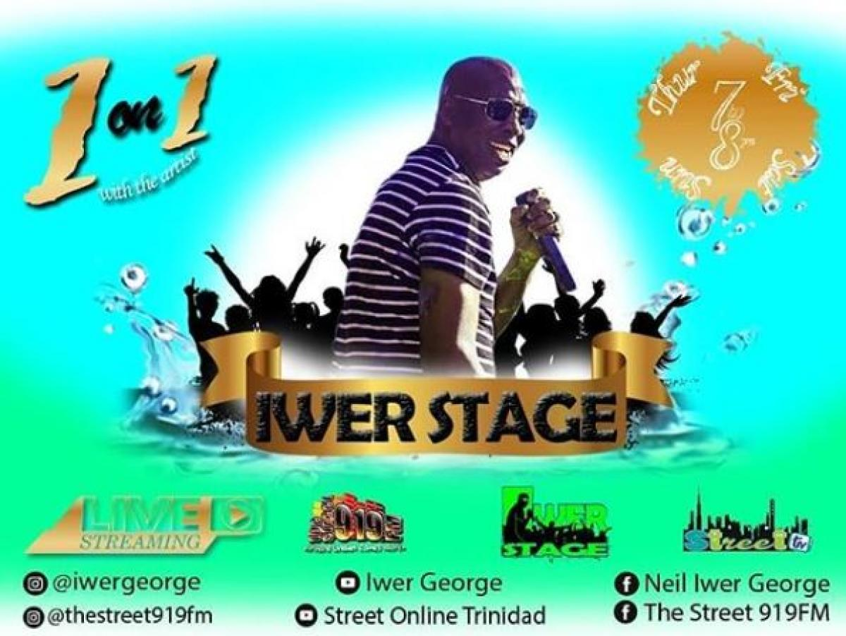 Iwer Stage flyer or graphic.