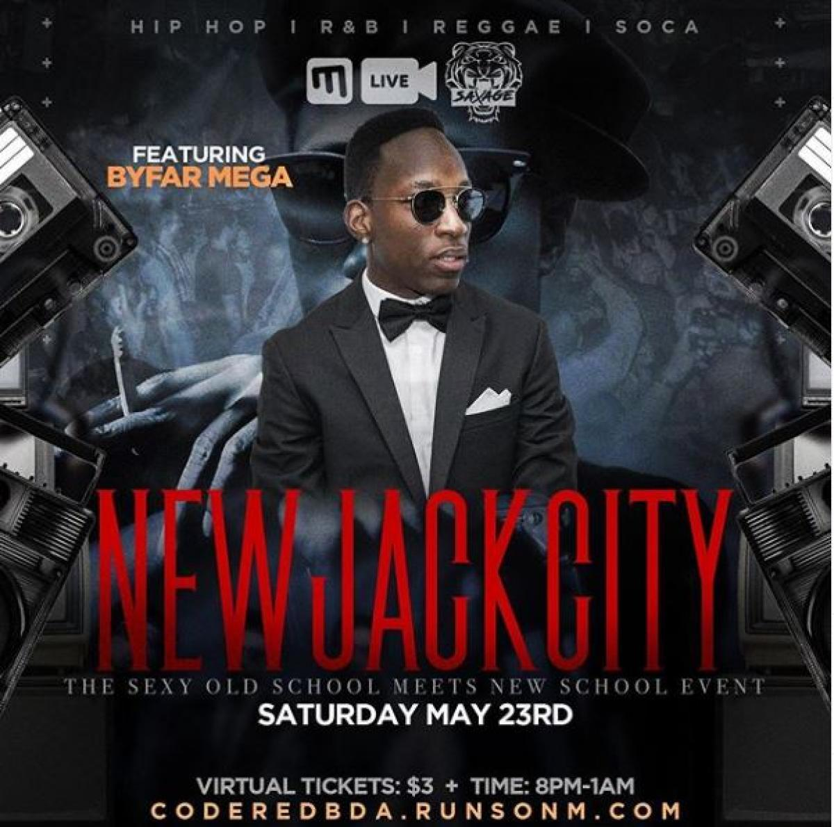 New Jack City flyer or graphic.