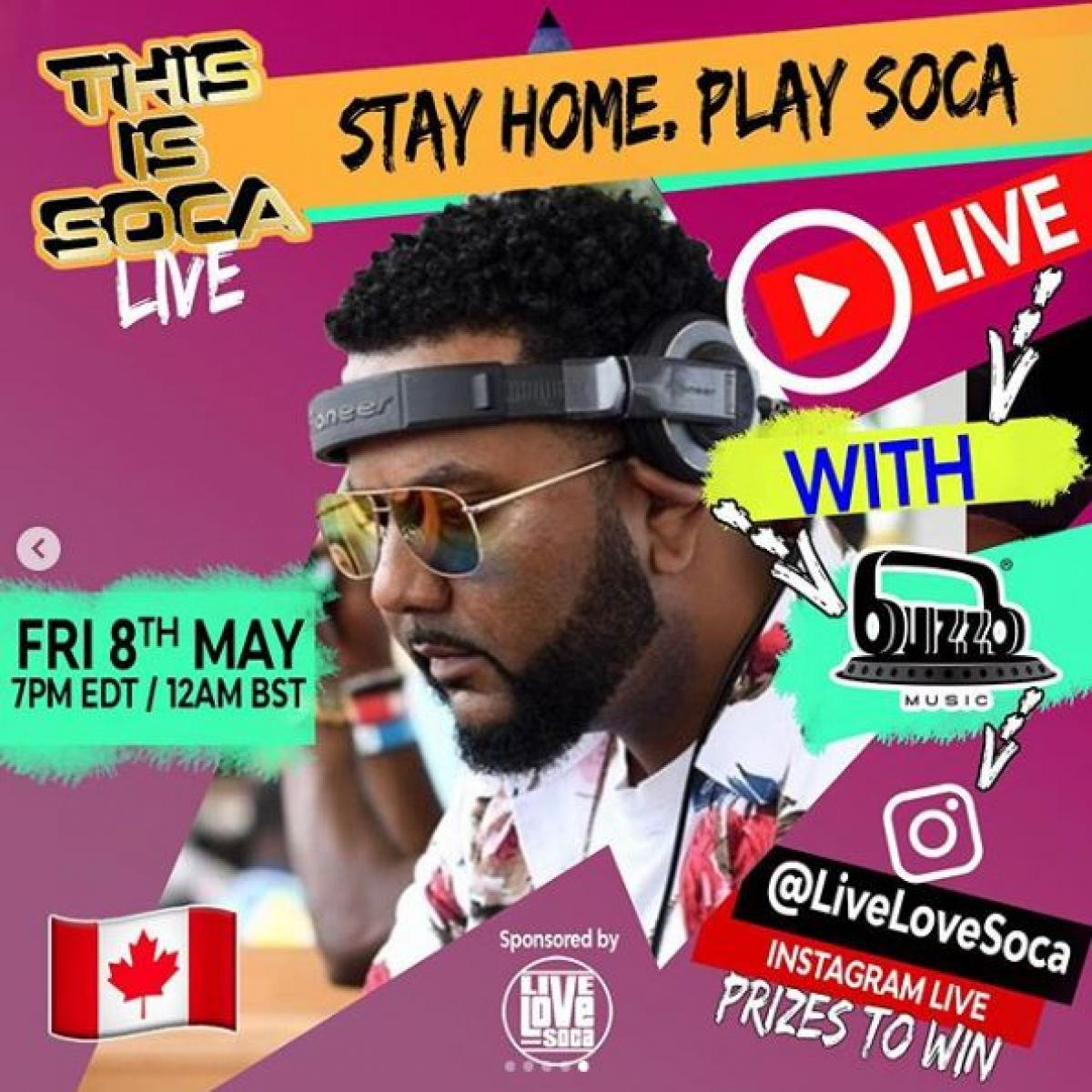 This Is Soca flyer or graphic.