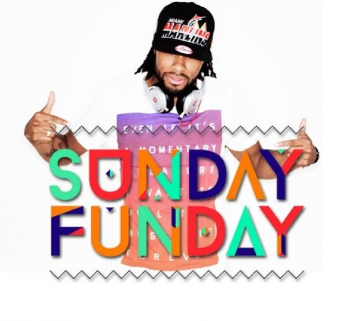 Sunday Funday flyer or graphic.