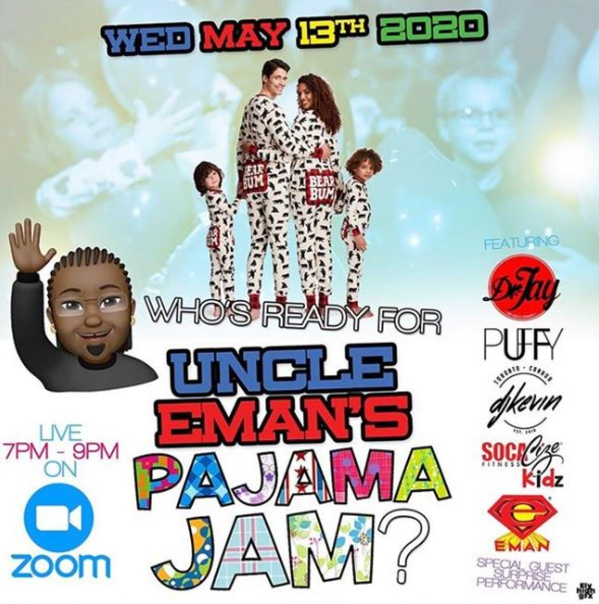 Uncle Eman's flyer or graphic.