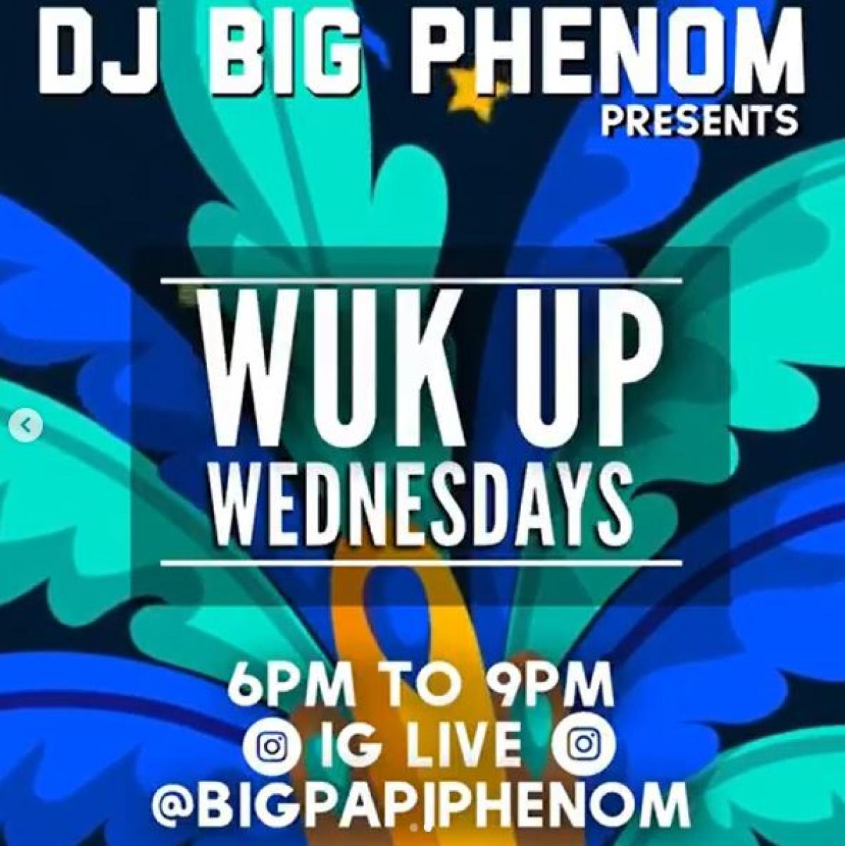 Wuk Up Wednesday flyer or graphic.