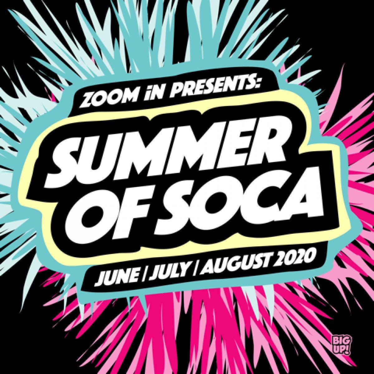 Summer Of Soca - Big Fat Ending SOS Fete Edition flyer or graphic.