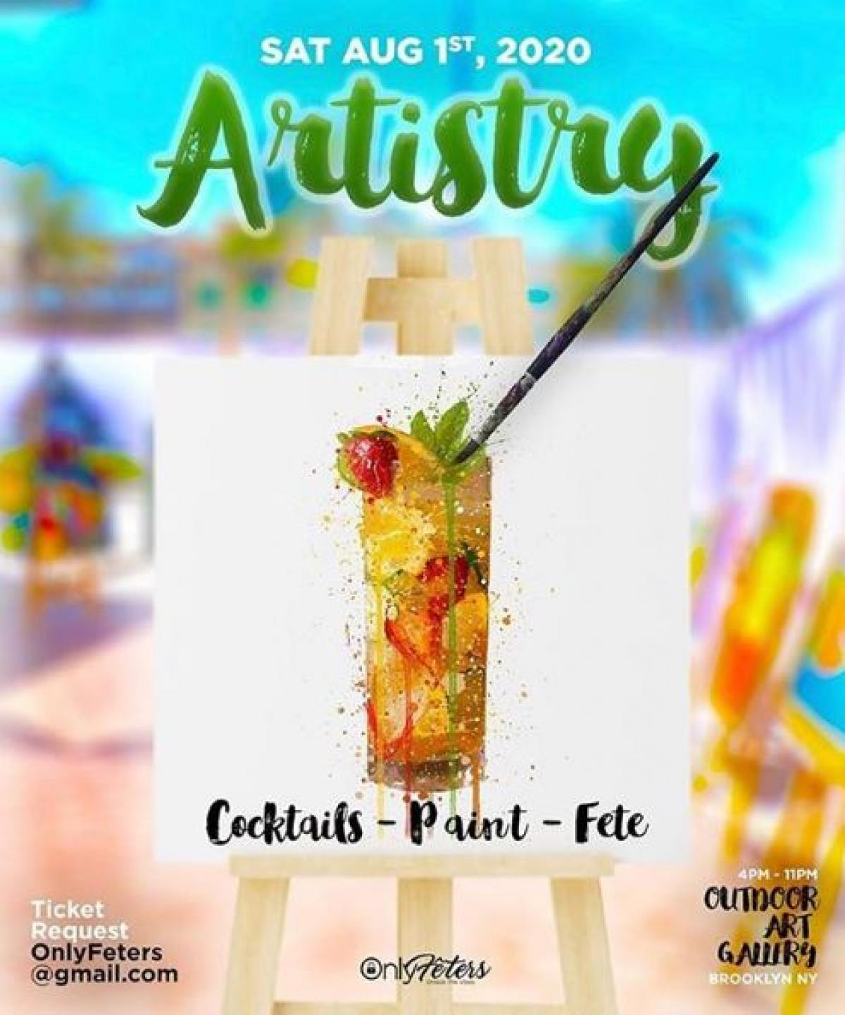 Artistry flyer or graphic.