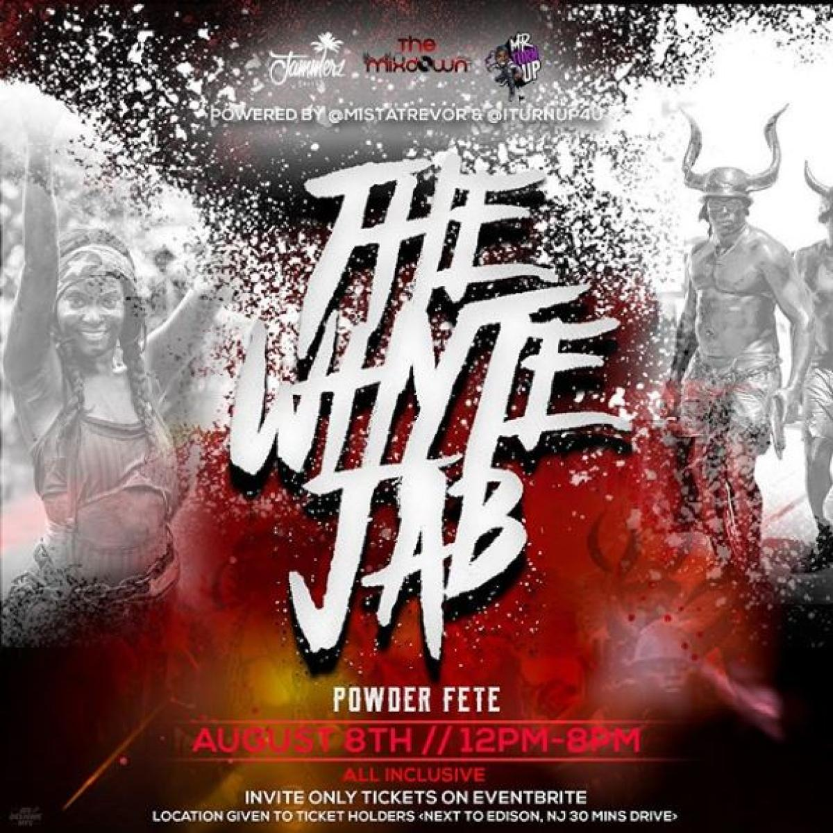 The Whyte Jab flyer or graphic.