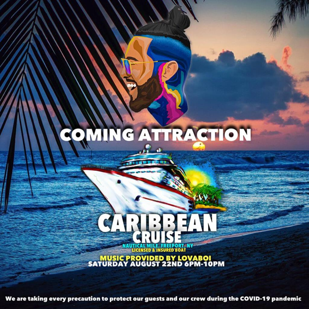 Caribbean Cruise  flyer or graphic.