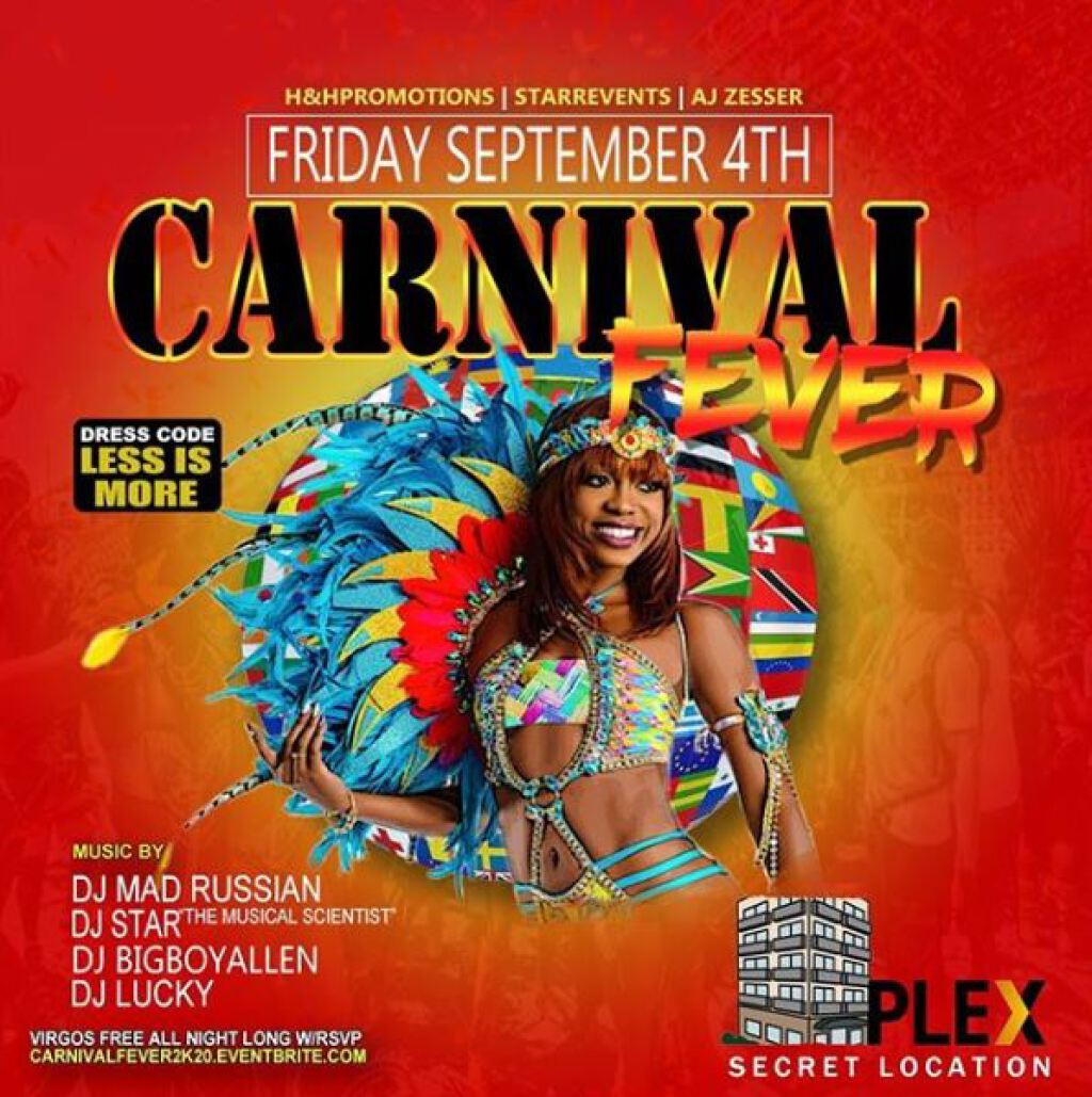 Carnival Fever flyer or graphic.