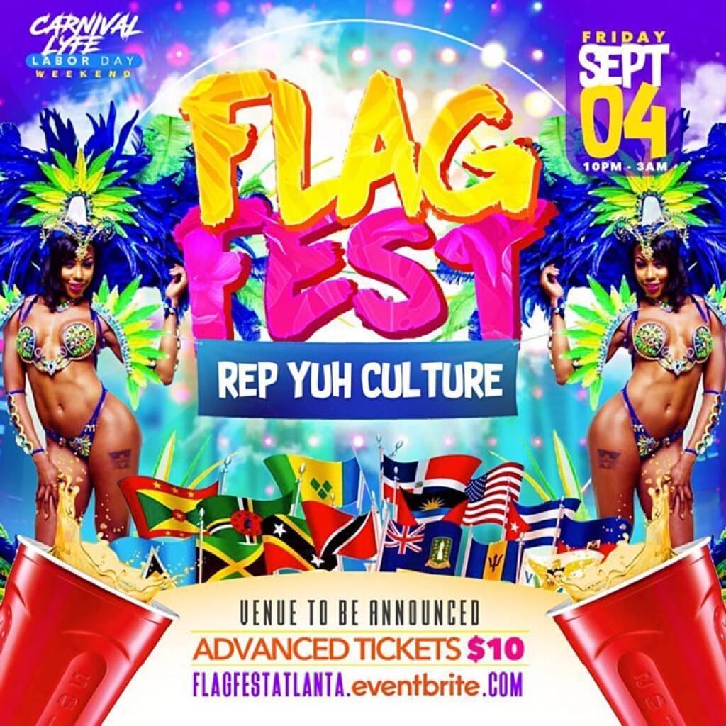 Flag Fest flyer or graphic.