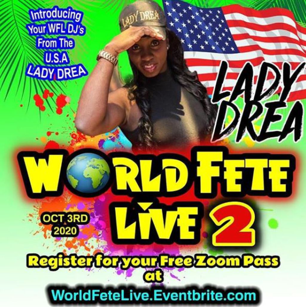 World Fete Live 2 flyer or graphic.
