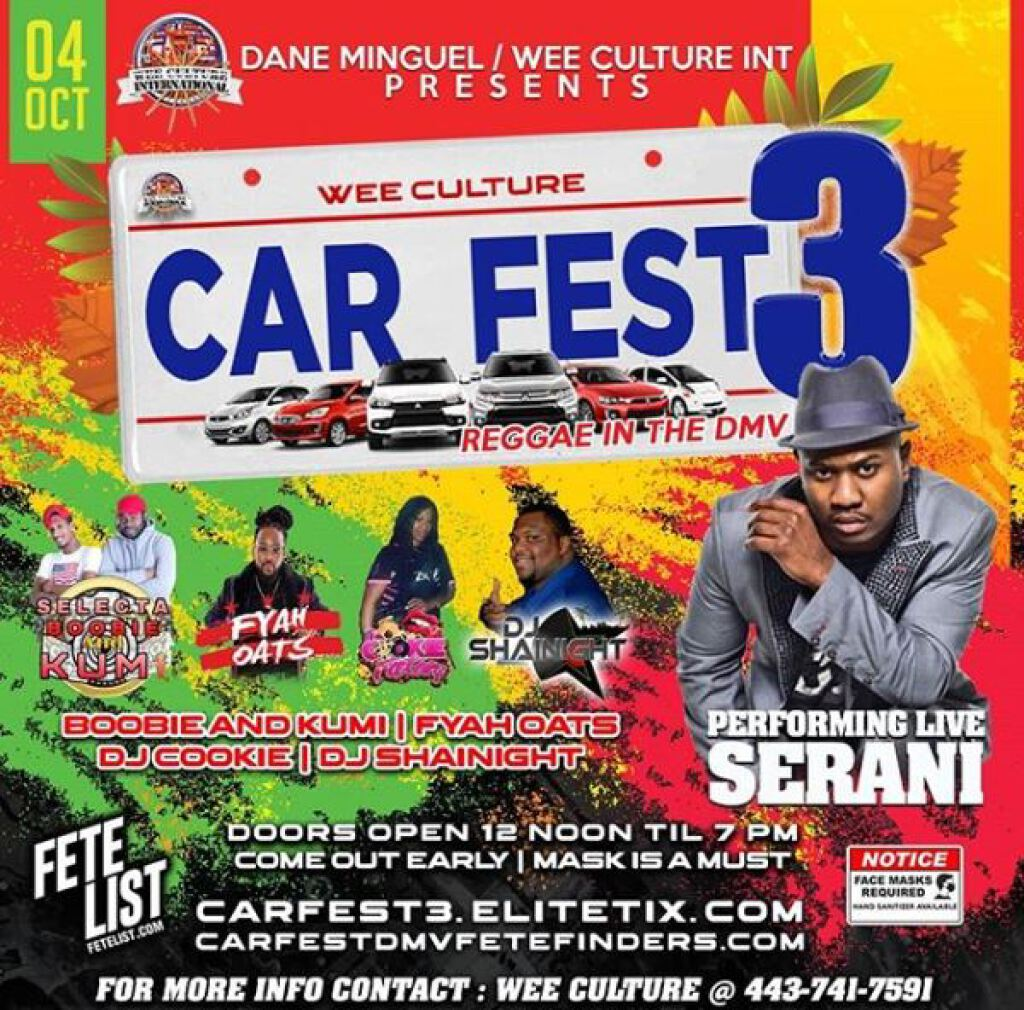 Car Fest 3rd Edition flyer or graphic.