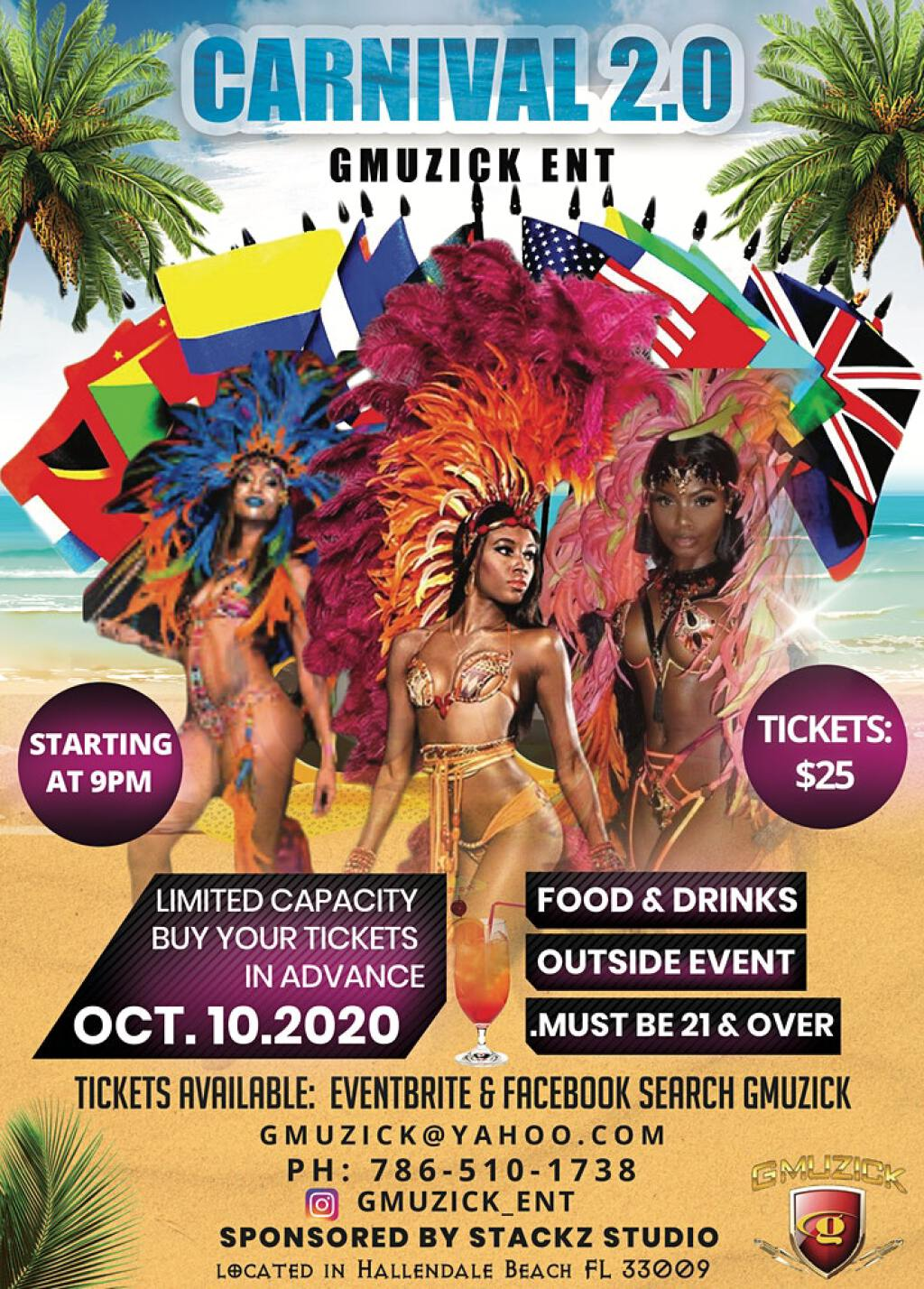 Carnival 2.0 flyer or graphic.
