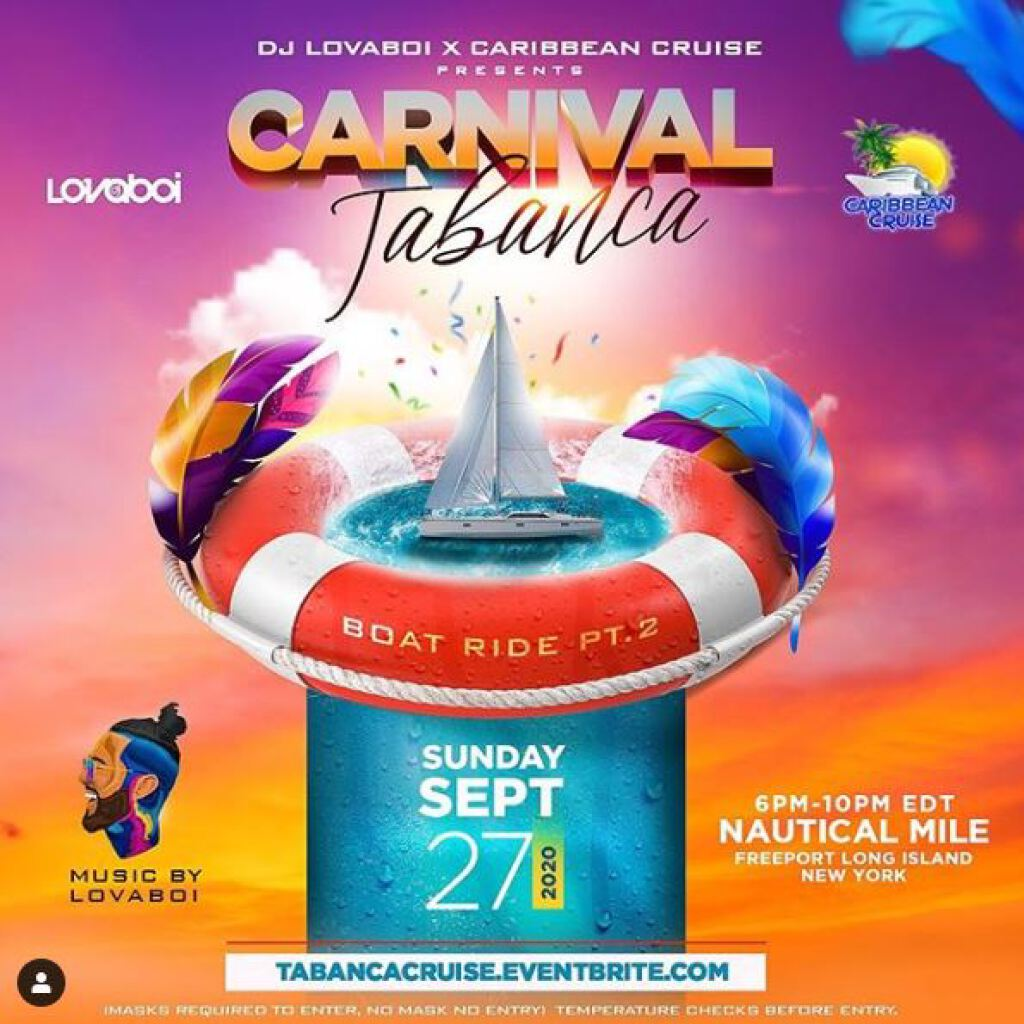 Carnival Tabanca Boat Ride Pt.2 flyer or graphic.