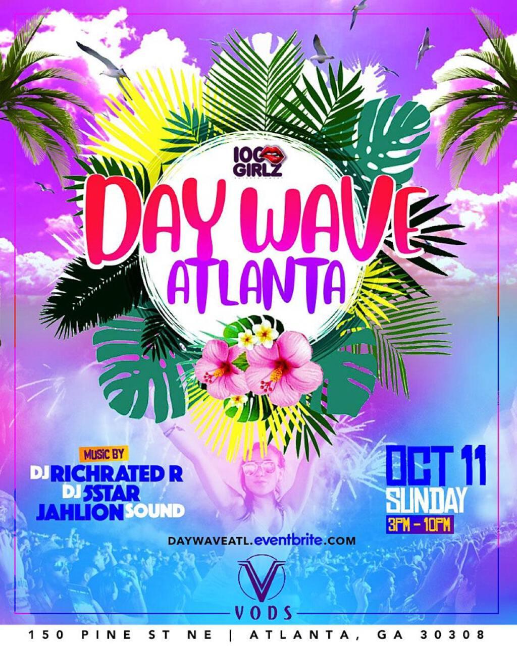 Day Wave Atlanta flyer or graphic.