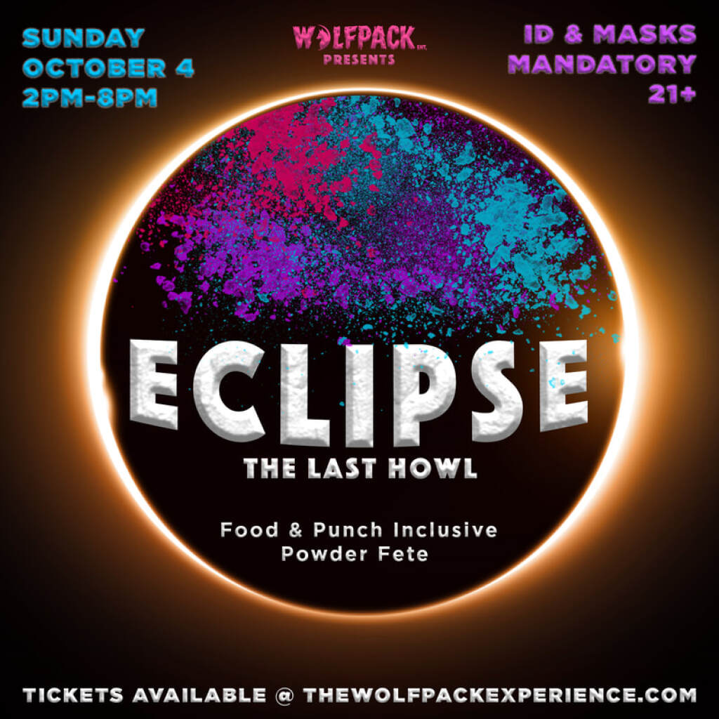 Eclipse flyer or graphic.
