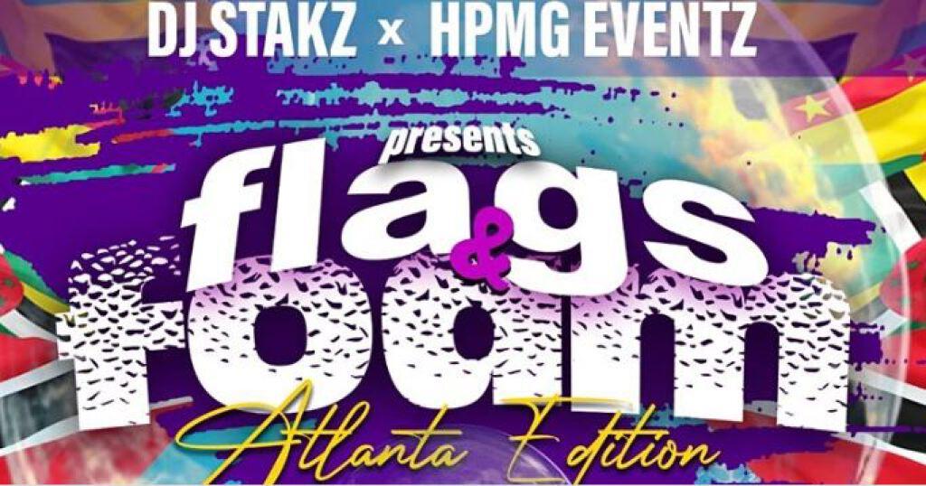 Flags & Foam Atlanta flyer or graphic.