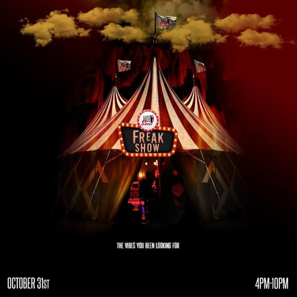 Freak Show flyer or graphic.