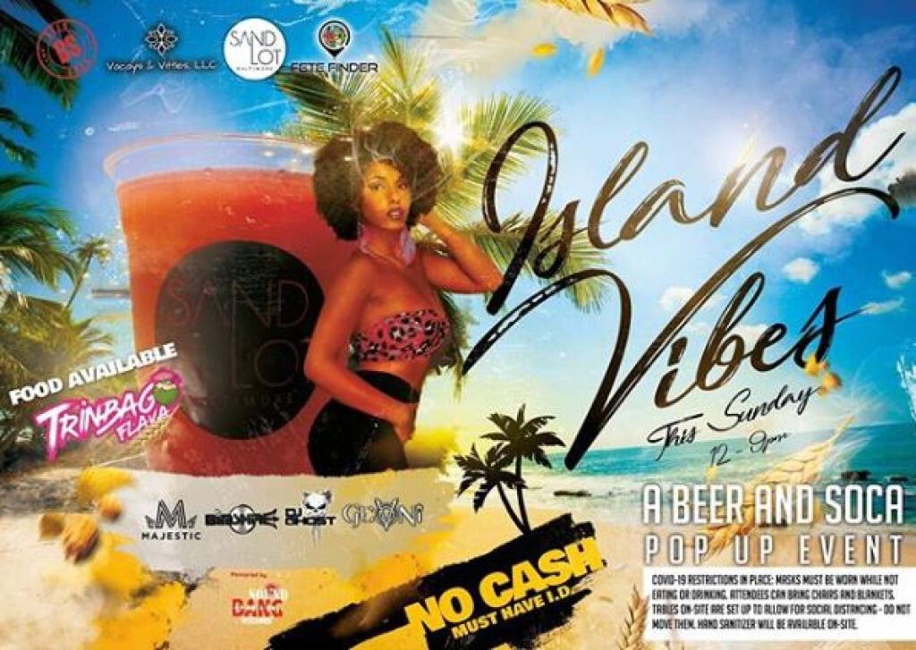 Island Vibes flyer or graphic.
