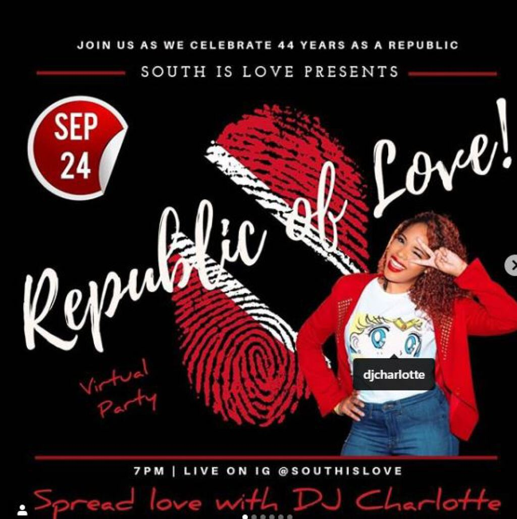 Republic Of Love 2020 flyer or graphic.