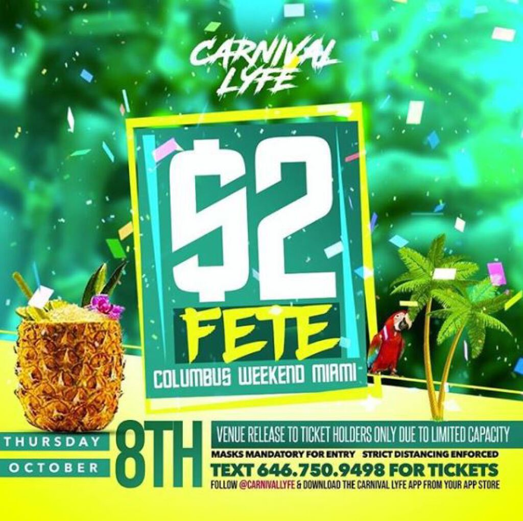 $2 Fete flyer or graphic.