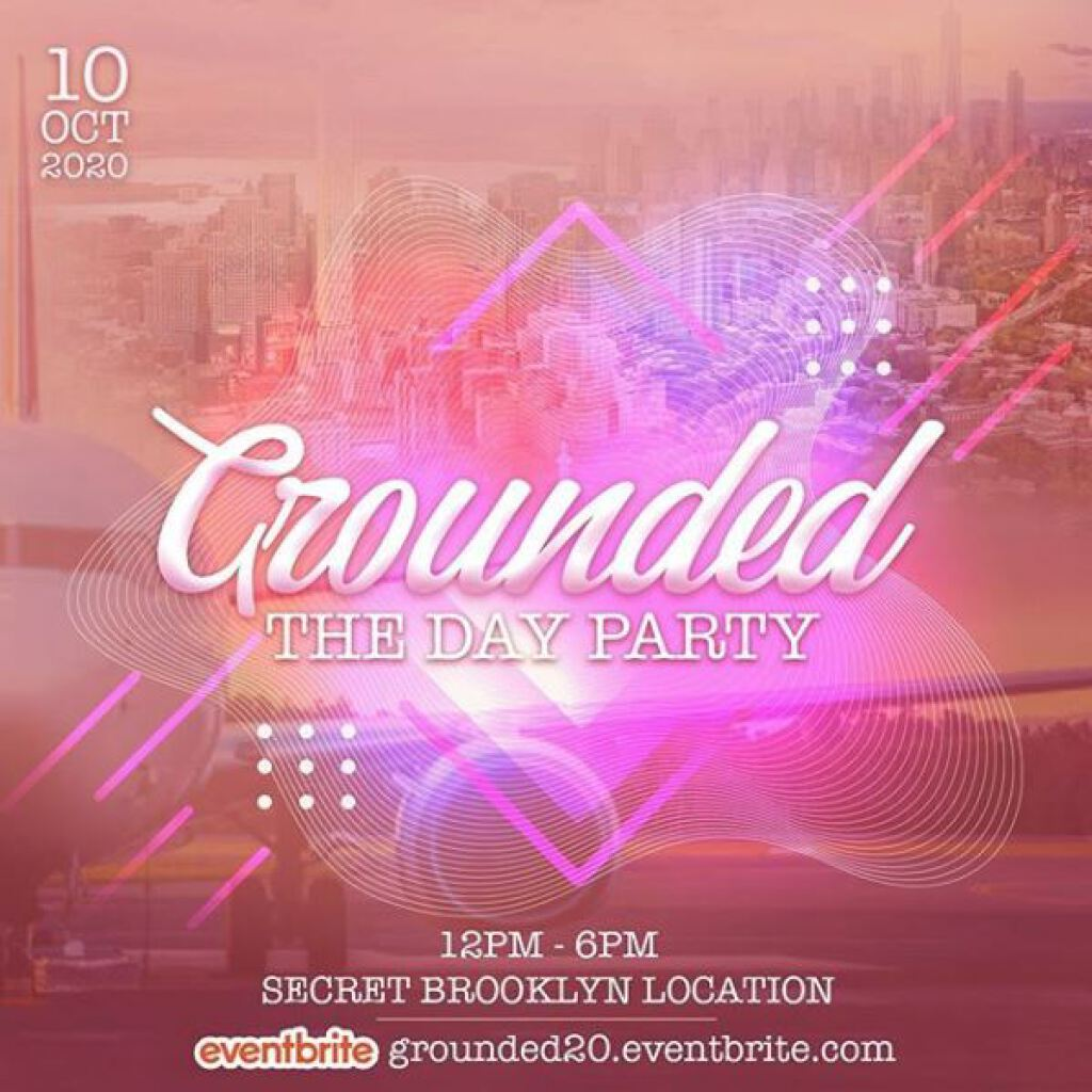 Grounded: The Day Party flyer or graphic.