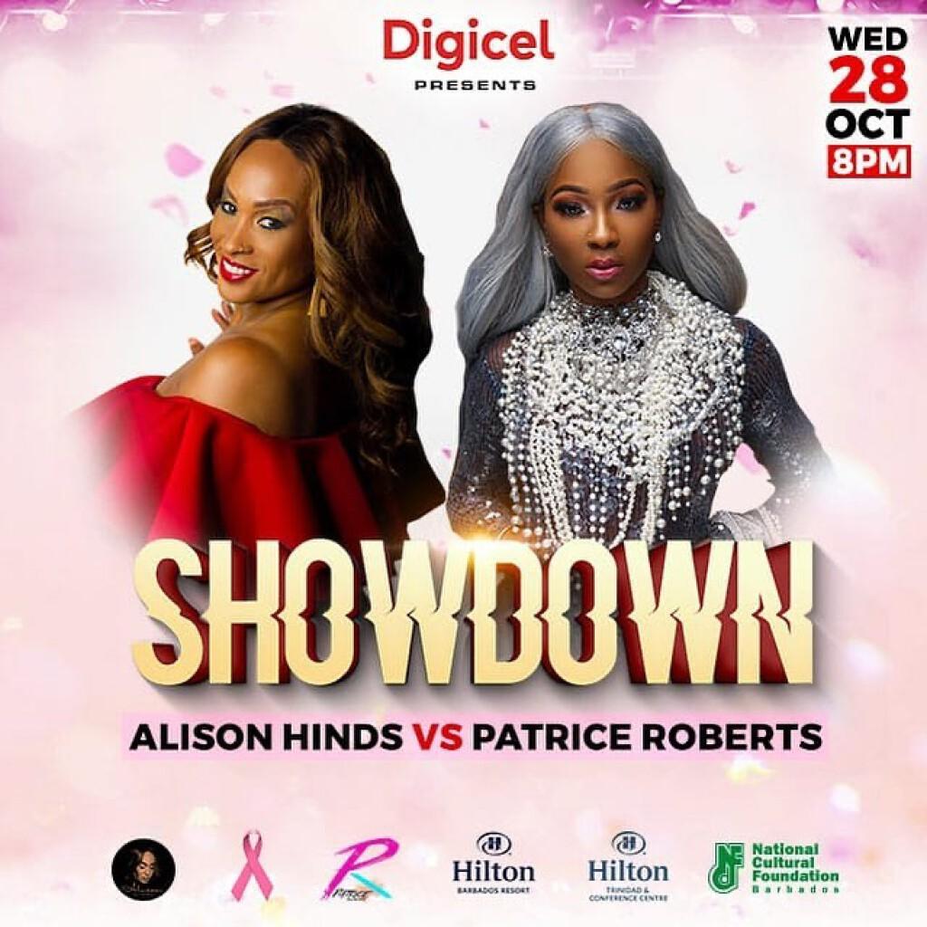 Showdown: Alison Vs Patrice  flyer or graphic.