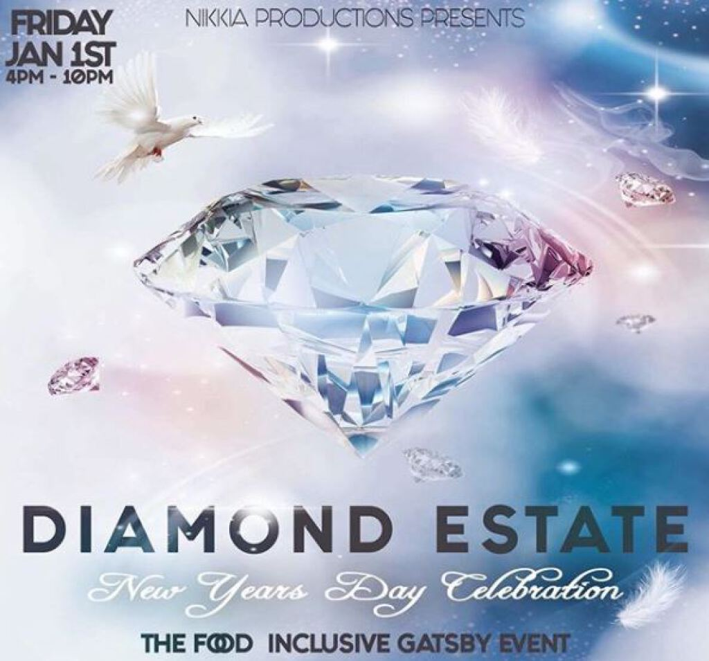 Diamond Estate flyer or graphic.