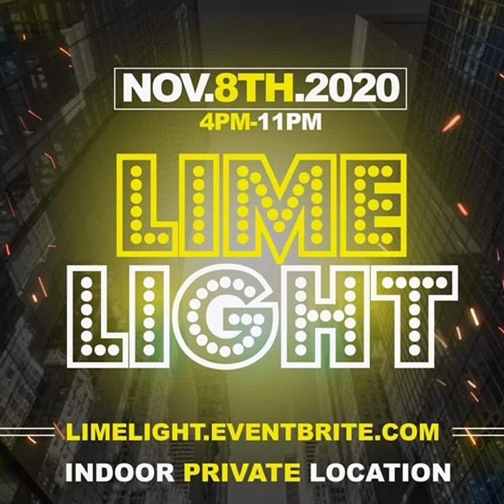 Lime Light flyer or graphic.