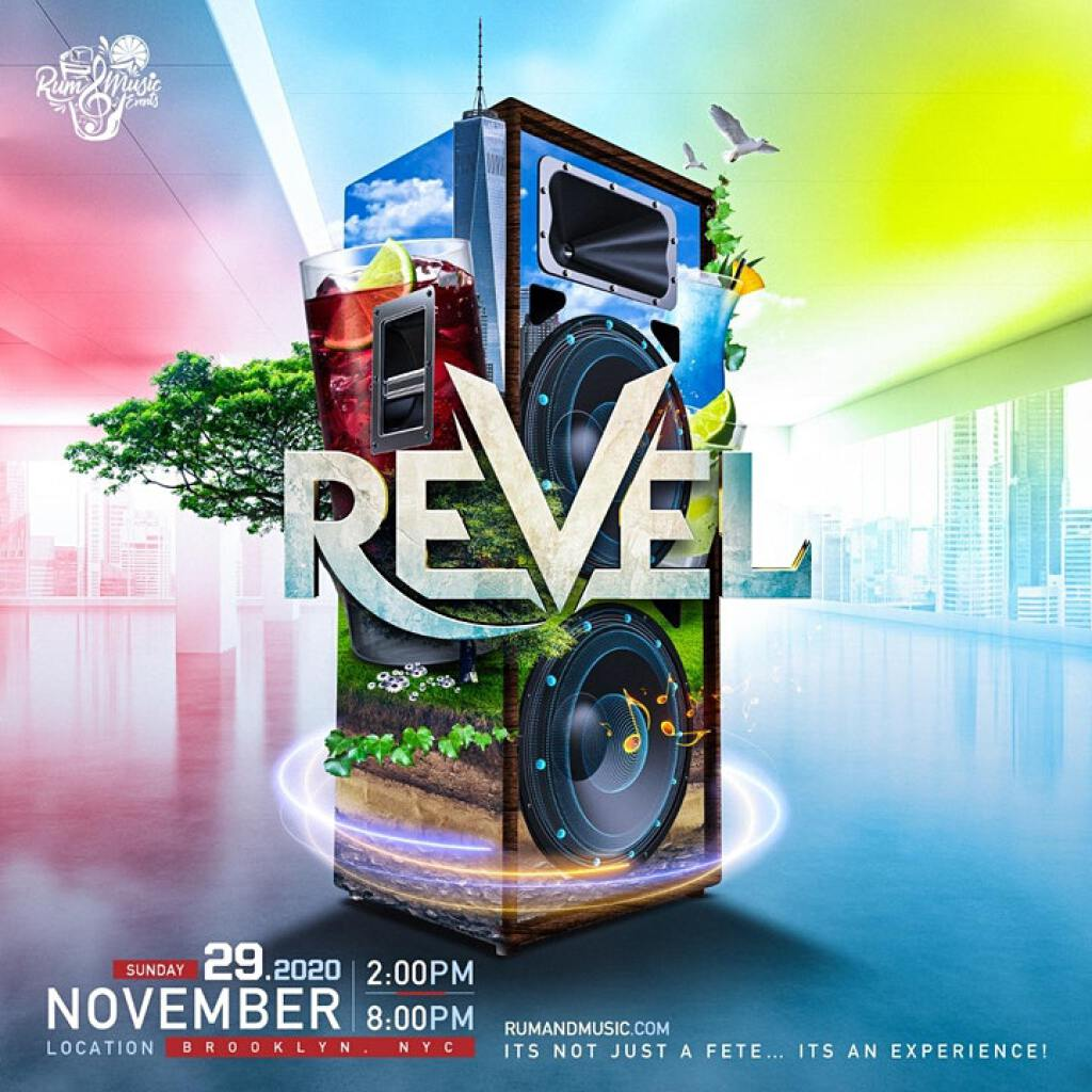 Revel flyer or graphic.
