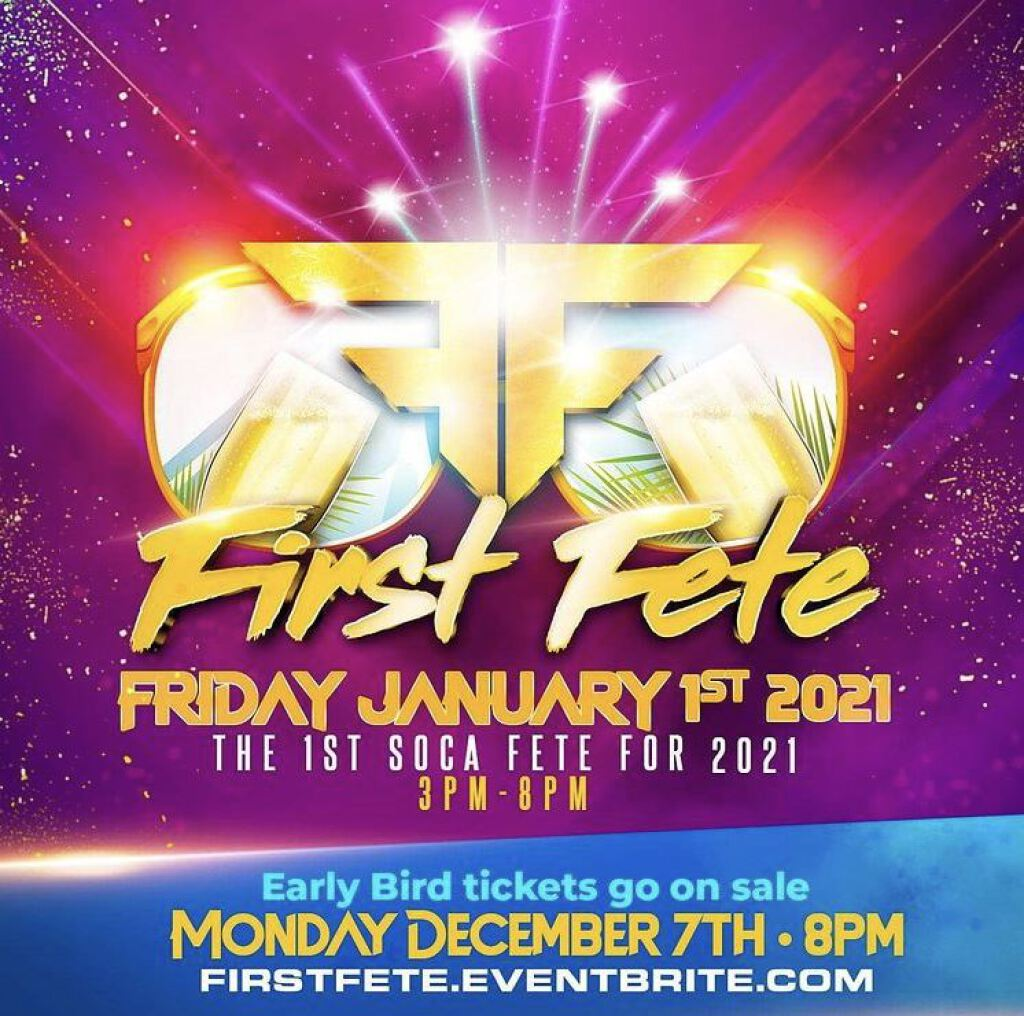 First Fete flyer or graphic.