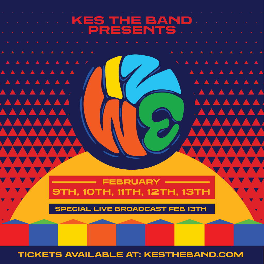 Kes The Band- Iz We 2021 Day 1  flyer or graphic.