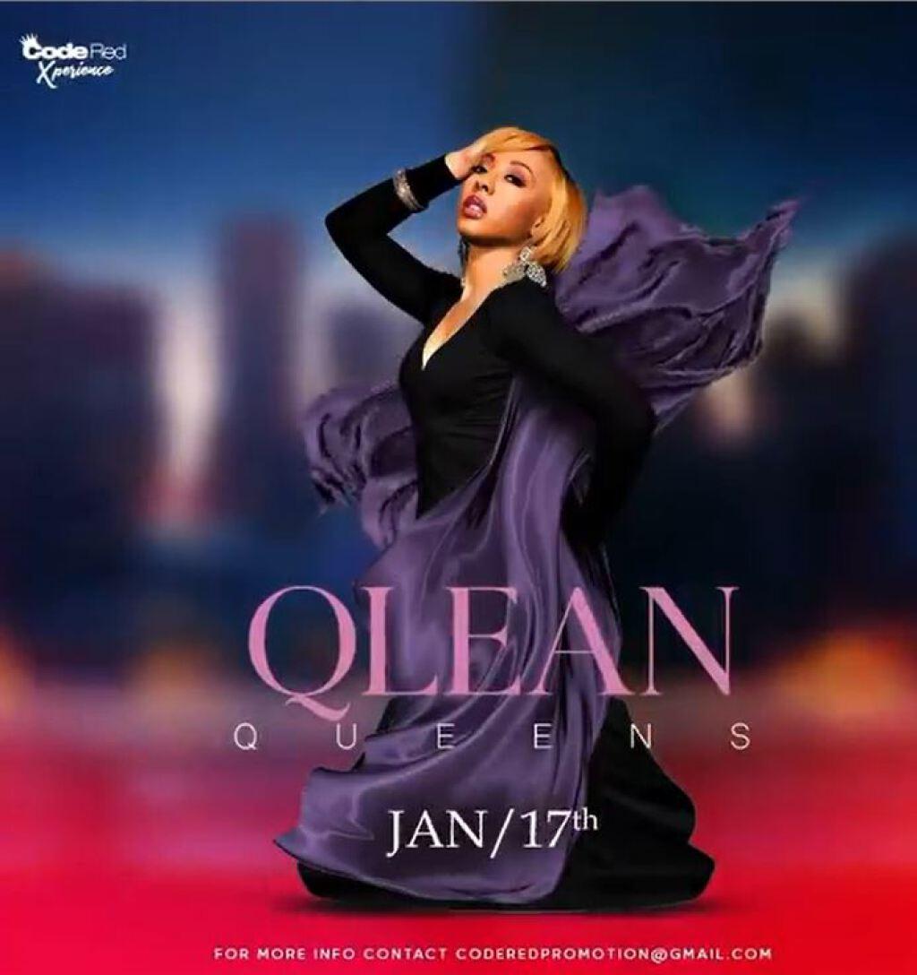 Qlean Queens flyer or graphic.
