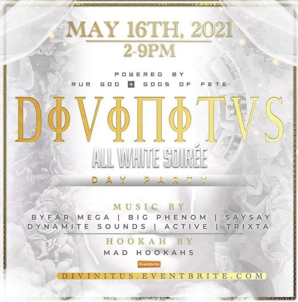 Divinitus flyer or graphic.
