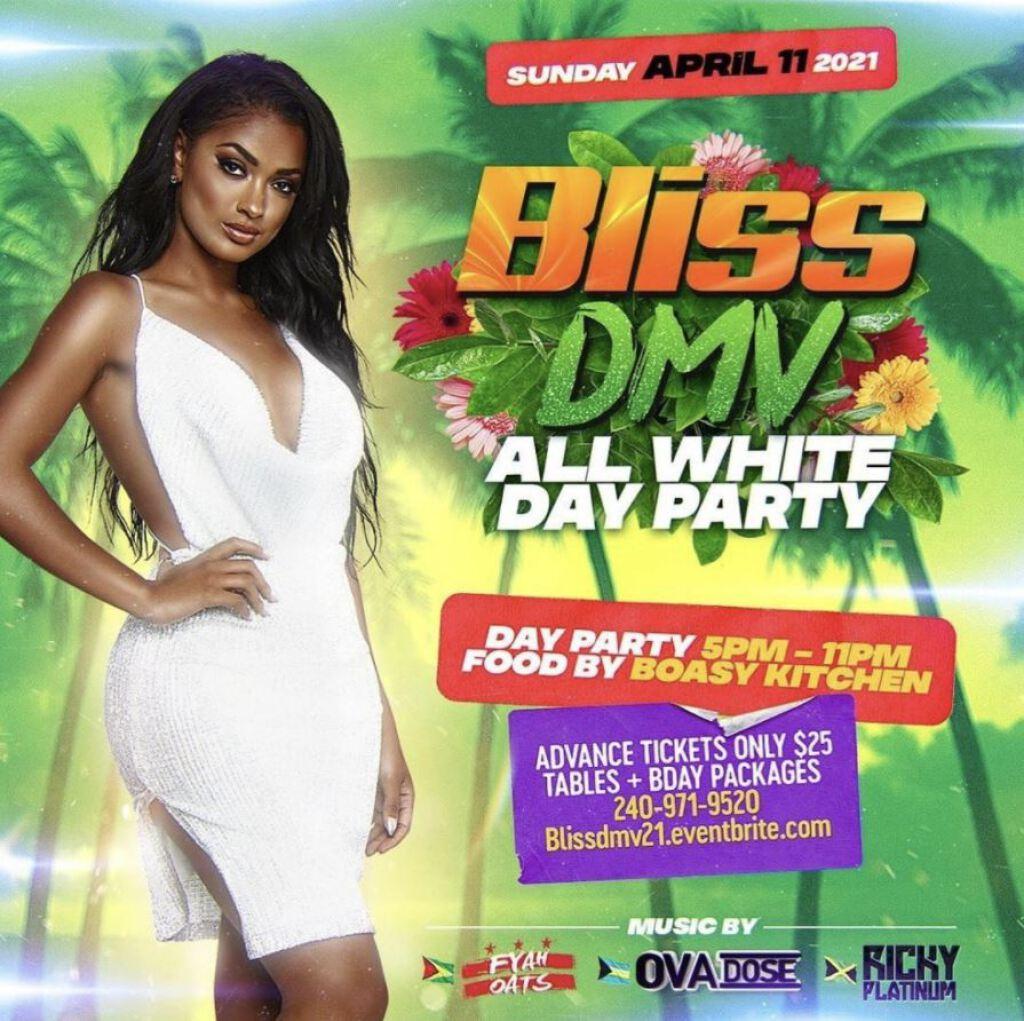 Bliss DMV flyer or graphic.
