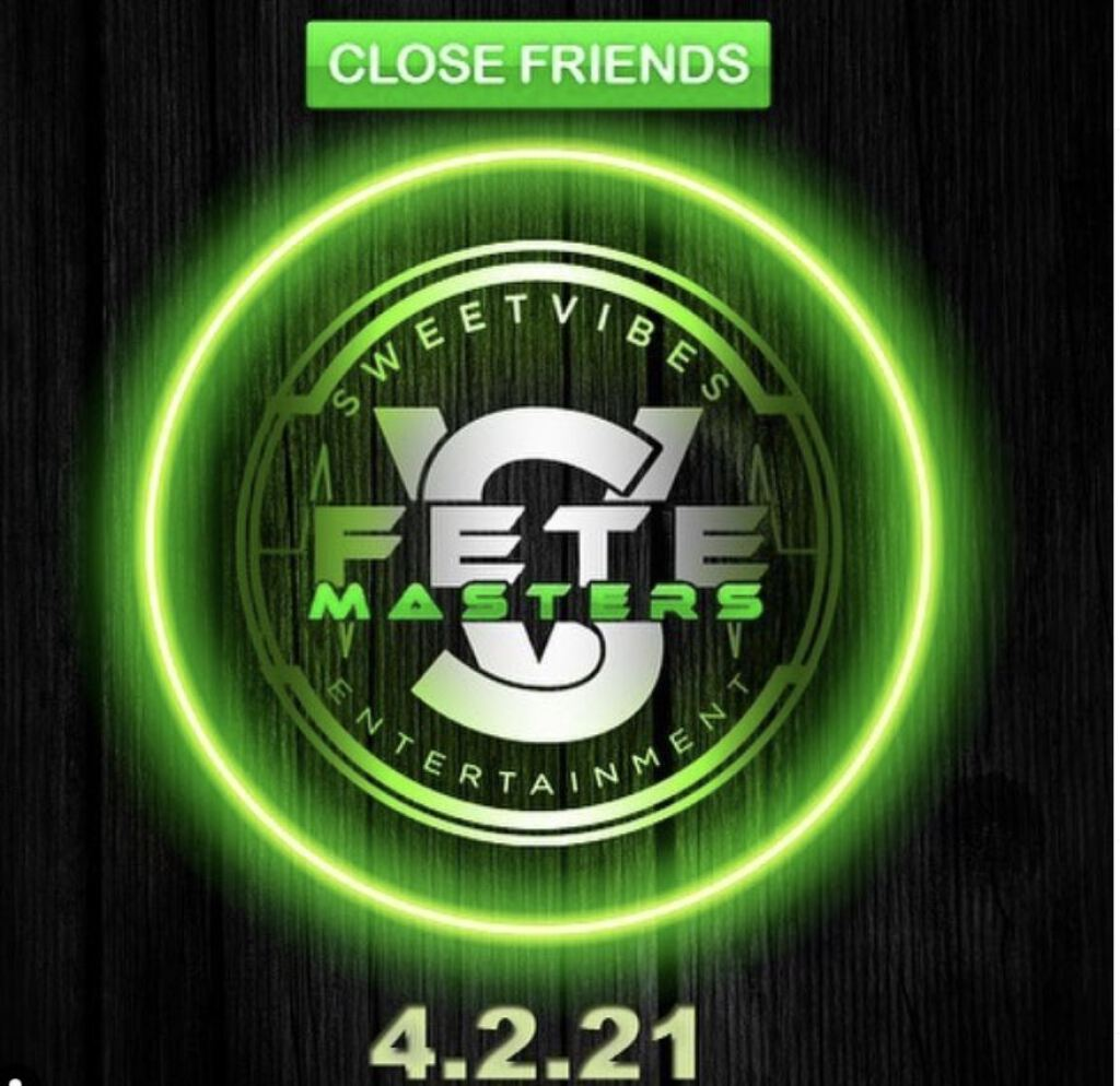 Close Friends flyer or graphic.