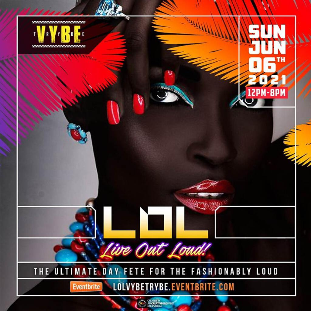 L.O.L (LIVE OUT LOUD) flyer or graphic.