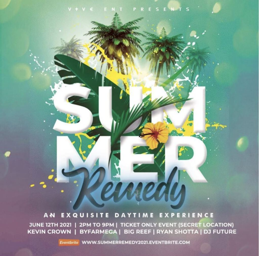 Summer Remedy flyer or graphic.