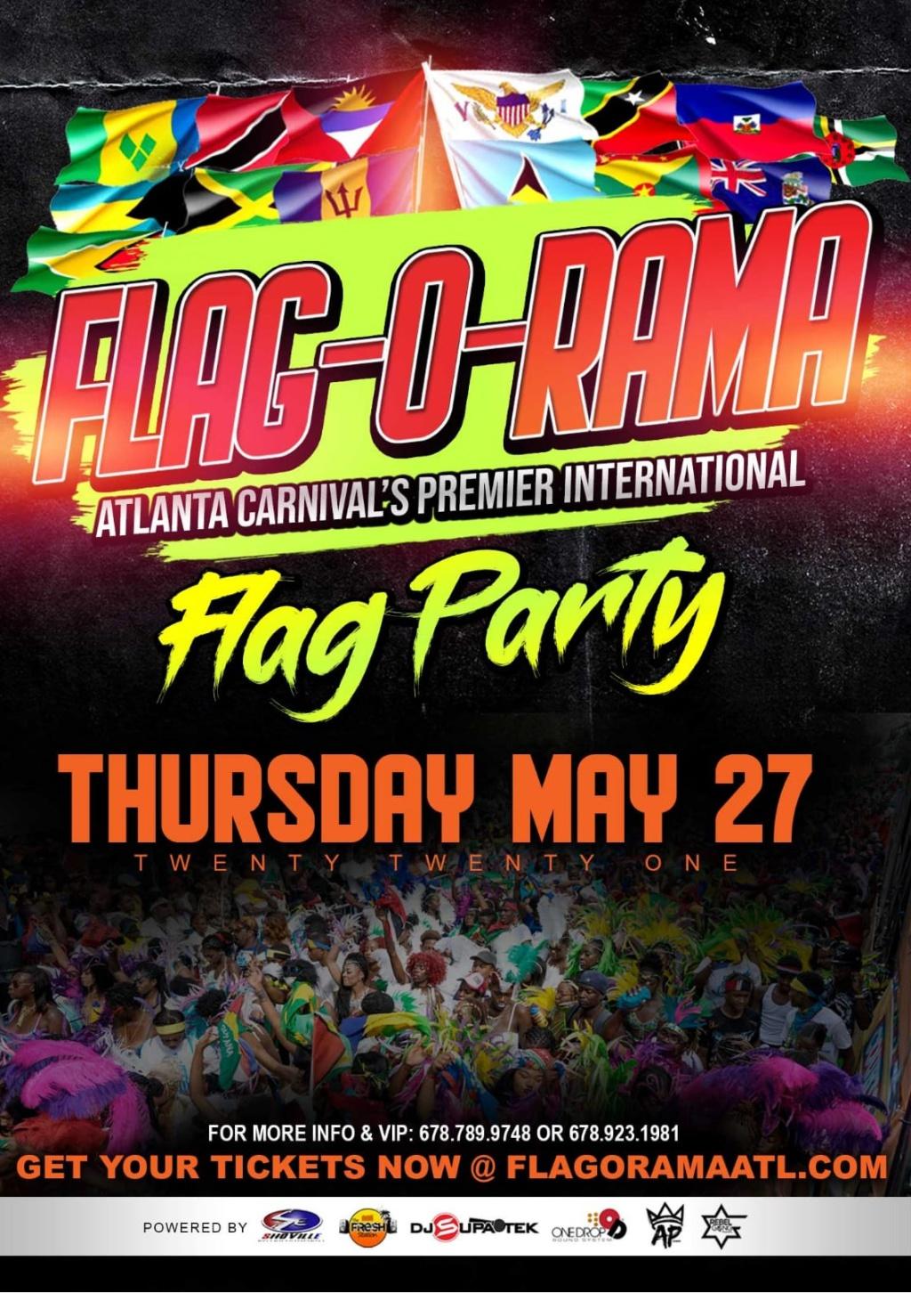 Flag-O-Rama flyer or graphic.