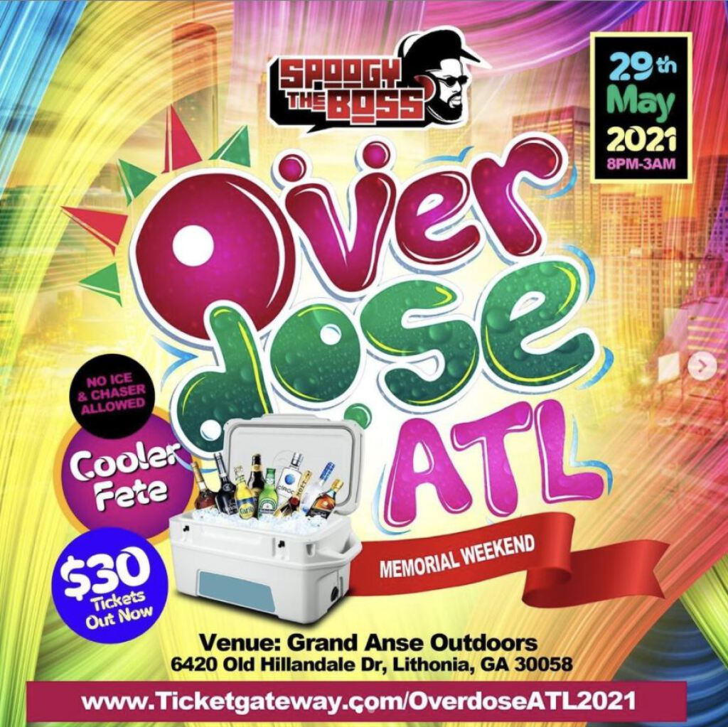 Over Dose ATL flyer or graphic.