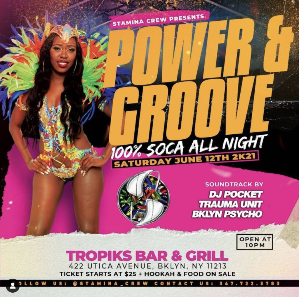 Power & Groove flyer or graphic.